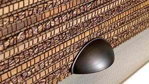 Woven Wood Shade Cordless Technical