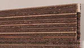 Woven Wood Upended Headrail Technical