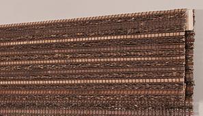 Woven Wood Waterfall Valance Technical
