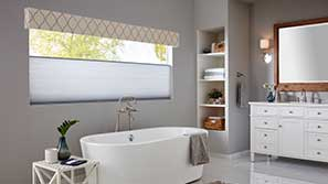 Cellular Shades in a great room